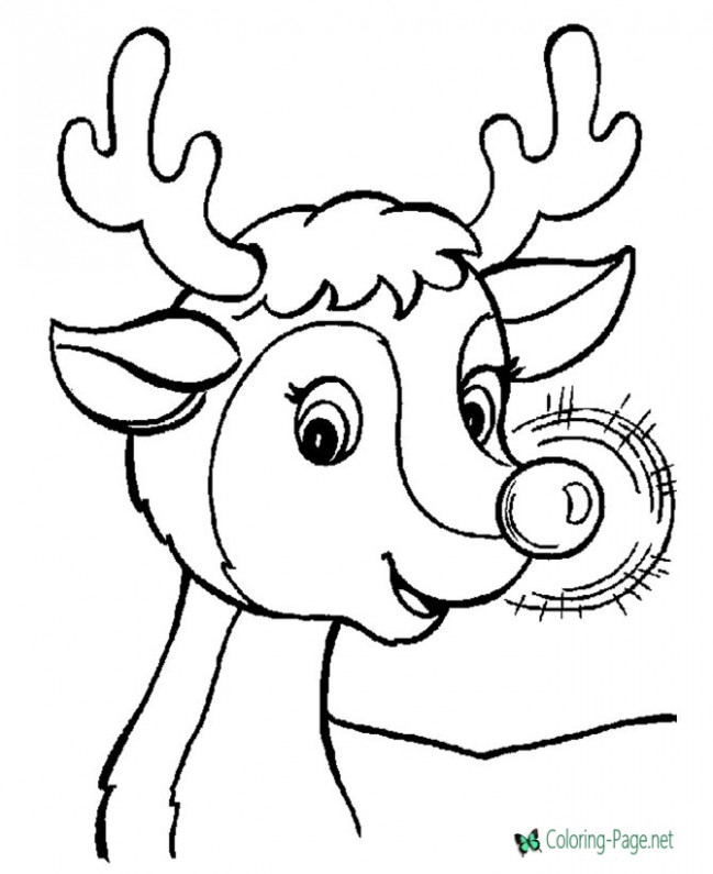 Christmas Coloring Pages – Christmas Coloring Sheets Images