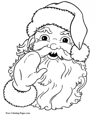 Christmas Coloring Pages – Christmas Coloring Templates Free
