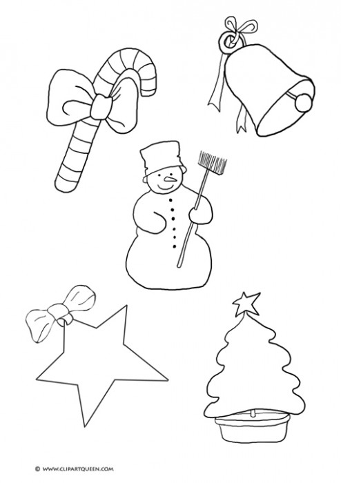 Christmas Coloring Pages – Christmas Coloring Templates
