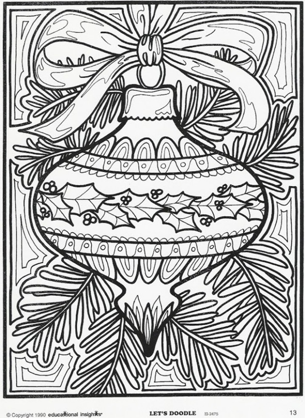 Christmas Coloring Pages for Adults – Best Coloring Pages For Kids – Christmas Coloring For Adults