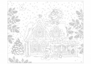 Christmas – Coloring Pages for Adults – Christmas Coloring Pages For Grown Ups