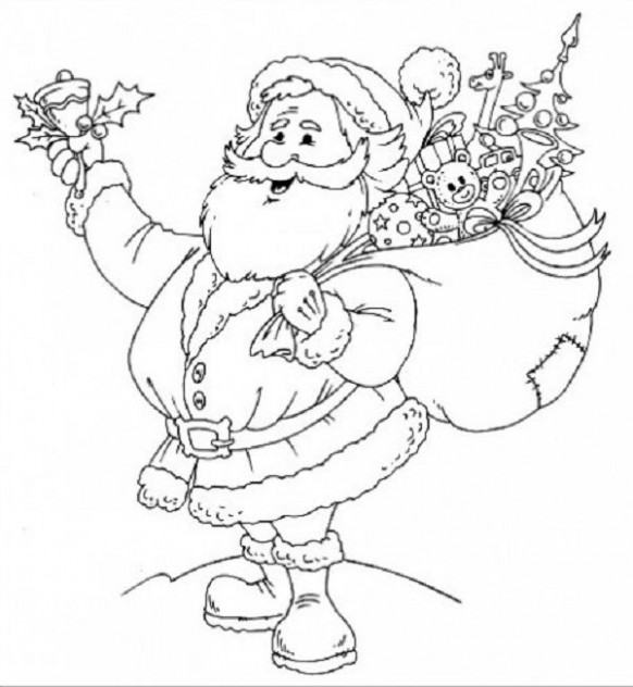 christmas coloring pages for elementary students | coloring kids ..