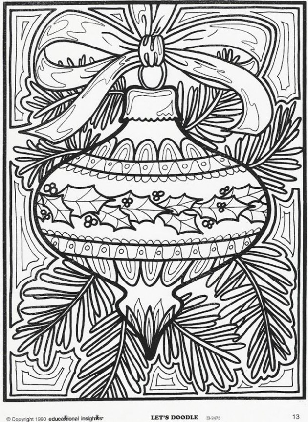 Christmas Coloring Pages For Middle School at GetDrawings.com | Free ..