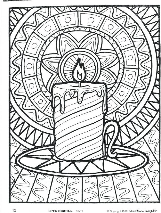 Christmas Coloring Pages For Older Kids Coloring Pages For Older ..