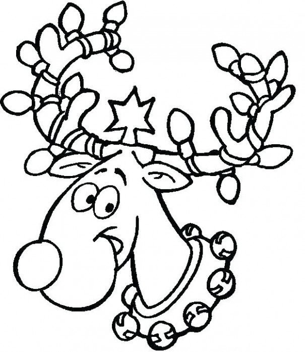 Christmas Coloring Pages For Preschool Coloring Pages For ...