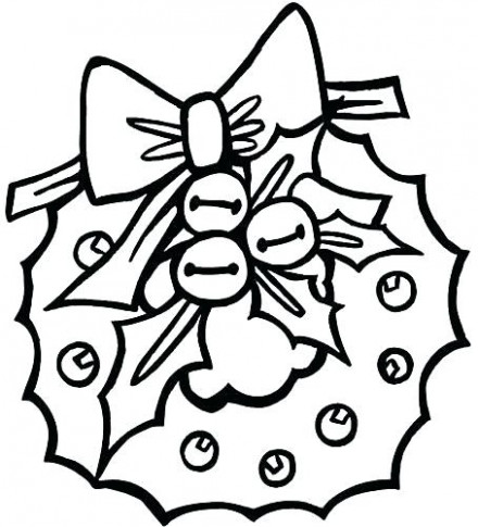 Christmas Coloring Pages For Preschool Merry Coloring Pages Merry ...