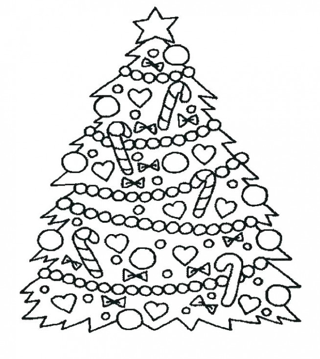 Christmas Coloring Pages For Preschool Preschool Coloring Pages ..