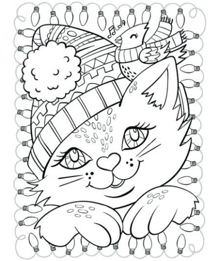 Christmas Coloring Pages For Preschoolers Printable Printable ..