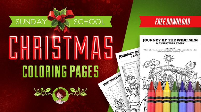 Christmas Coloring Pages For Sunday School: Enter The Contest  - Christmas Colouring Pages For Sunday School