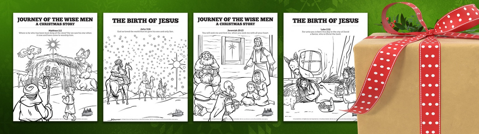 Christmas Coloring Pages For Sunday School: Enter The Contest & Win ..