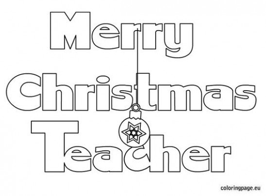 Christmas Coloring Pages For Teachers | Coloring Pages – Christmas Coloring Pages For Teachers