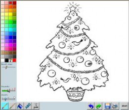 Christmas Coloring Pages – Free and Printable – Christmas Coloring In Online
