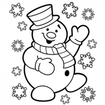 Christmas Coloring Pages, Free Christmas Coloring Pages for Kids – Christmas Coloring In