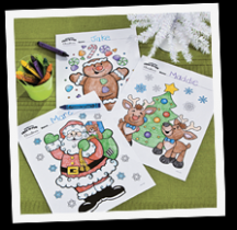 Christmas Coloring Pages, Free Christmas Coloring Pages for Kids – Christmas Coloring Pages Cutouts