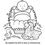 Christmas Coloring Pages, Free Christmas Coloring Pages for Kids – Christmas Coloring Pages Jesus