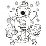 Christmas Coloring Pages, Free Christmas Coloring Pages for Kids – Christmas Coloring Pages North Pole