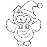 Christmas Coloring Pages, Free Christmas Coloring Pages for Kids – Christmas Coloring Pages Owls