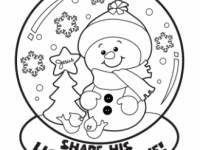 Christmas Coloring Pages, Free Christmas Coloring Pages for Kids – Christmas Coloring Printables Free
