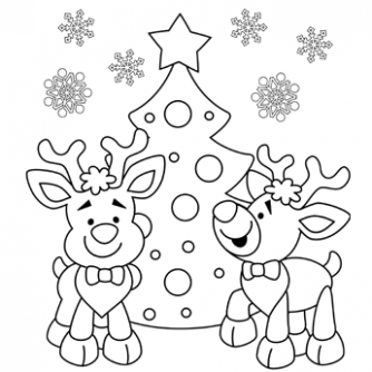 Christmas Coloring Pages, Free Christmas Coloring Pages for Kids - Free Christmas Coloring Pages