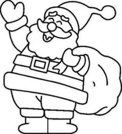 Christmas Coloring Pages | Free download best Christmas Coloring ..