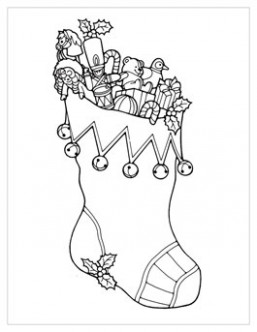 Christmas Coloring Pages | Hallmark Ideas  - Christmas Coloring Ideas