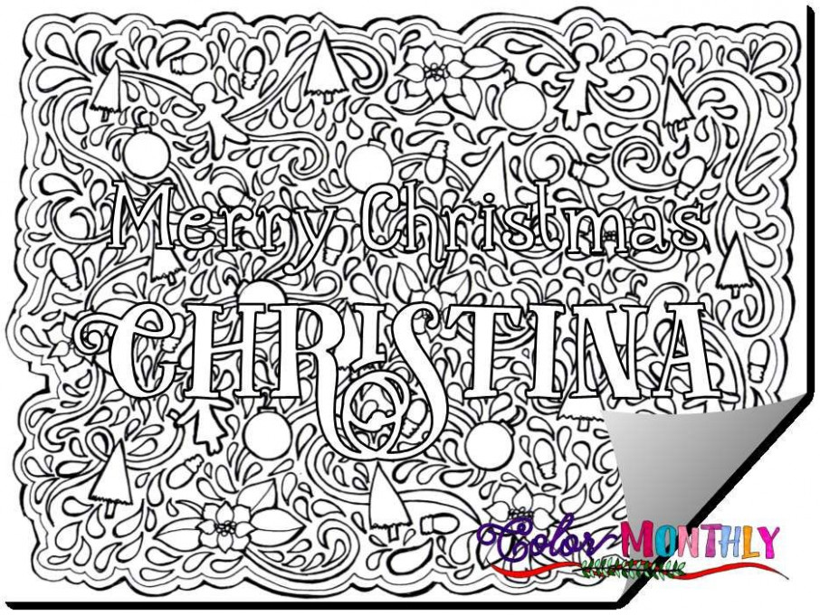 Christmas Coloring Pages Pdf New Best Christmas Coloring Pages Pdf ...