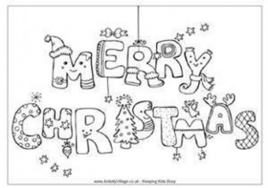 Christmas Coloring Pages / Preschool items - Juxtapost - Christmas Coloring For Preschool