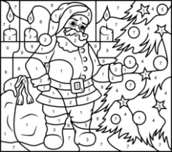 Christmas Coloring Pages – Printable Christmas Coloring Pages