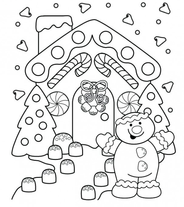 Christmas Coloring Pages Printable Color Page A Printable Page A ...