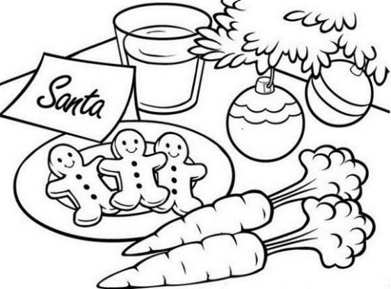 Christmas Coloring Pages Santa - CartoonRocks.com - Coloring Home