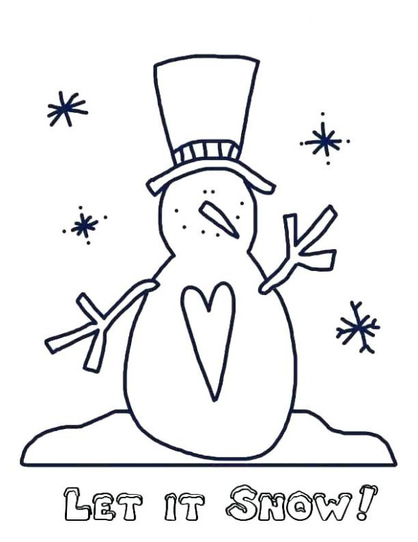 christmas coloring pages snowman – danquahinstitute.org
