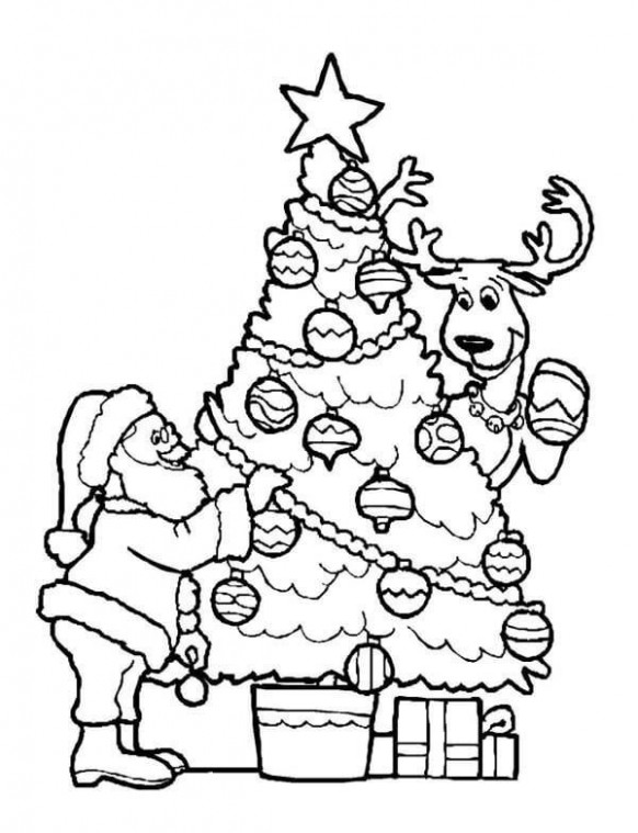 Christmas Coloring Pages - World Of Makeup And Fashion | Coloring ...