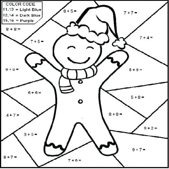 christmas coloring worksheets for 20st graders refrence first grade ..