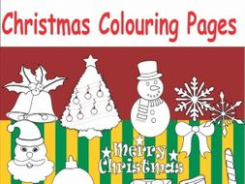 Christmas colouring pages by ruthem – Teaching Resources – Tes – Christmas Colouring Pages Tes