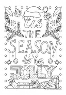 Christmas Colouring Pages – Christmas Coloring Page