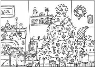 Christmas Colouring Pages – Christmas Coloring Pages Esl