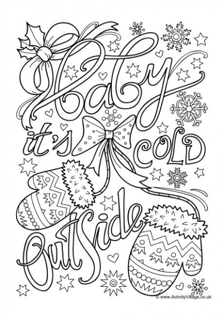 Christmas Colouring Pages for Older Kids and Adults – Christmas Coloring Pages For Older Students