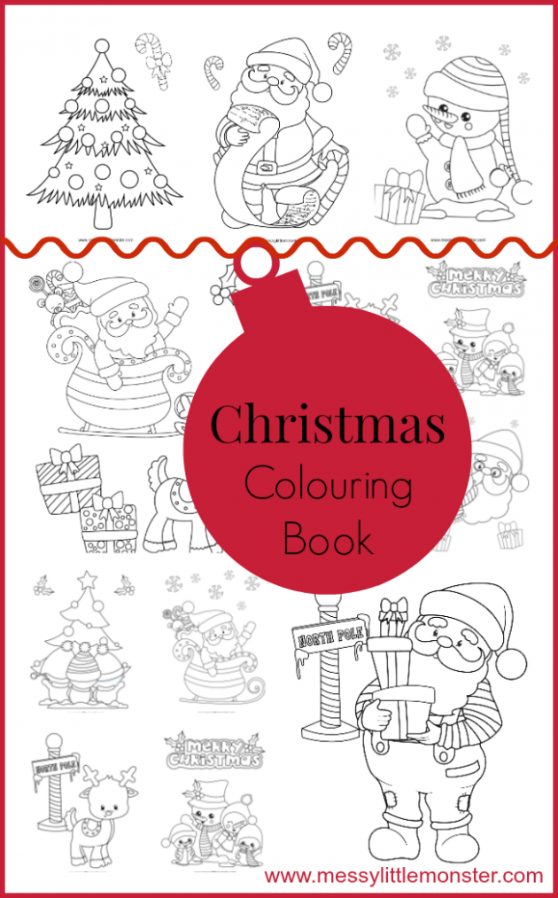 Christmas Colouring Pages | kiddos | Pinterest | Christmas coloring ..