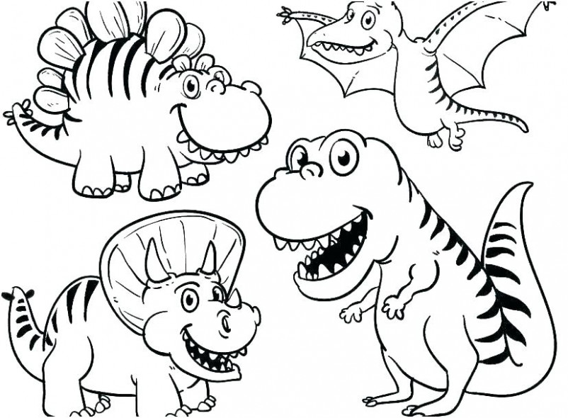 christmas dinosaur coloring pages – highfiveholidays