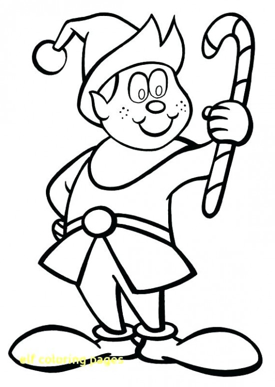 christmas elf coloring pages elf coloring page christmas pages. free ..