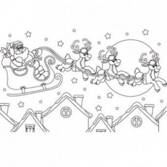 Christmas Eve Coloring Page - Free Christmas Recipes, Coloring Pages ...