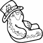 Christmas Gingerbread coloring pages | Free Coloring Pages