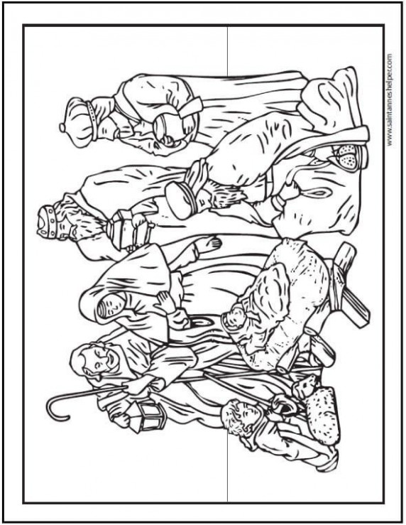 Christmas In Ireland Coloring Pages Best Of Jesus Christmas Coloring ..