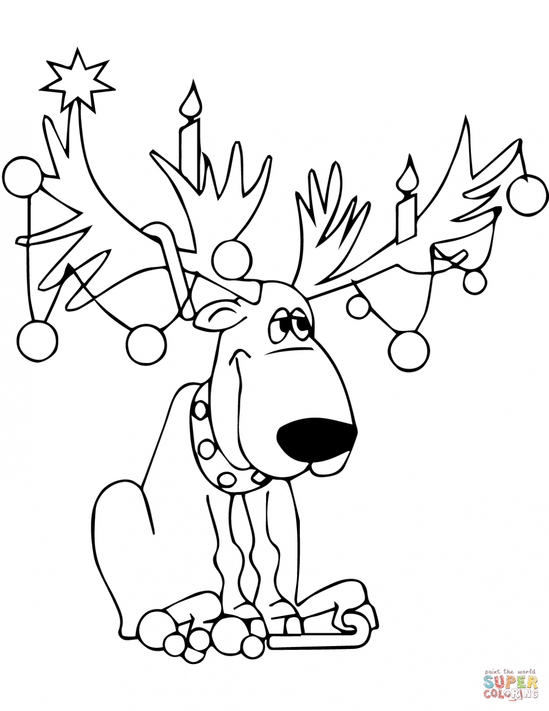 Christmas Lights coloring pages | Free Coloring Pages