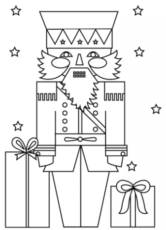 Christmas Nutcracker Soldier coloring page | Free Printable Coloring ...