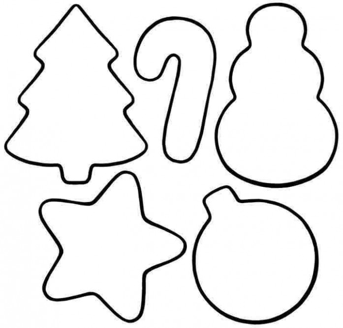 Christmas Ornament Coloring Pages   Free download best Christmas ...
