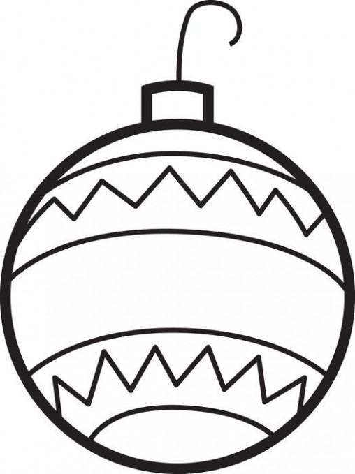 Christmas Ornaments Coloring Page #18 | Christmas Crafts | Christmas ...