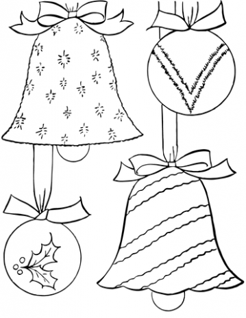 Christmas Ornaments coloring page | Free Printable Coloring Pages – Printable Coloring Pages Christmas Decorations