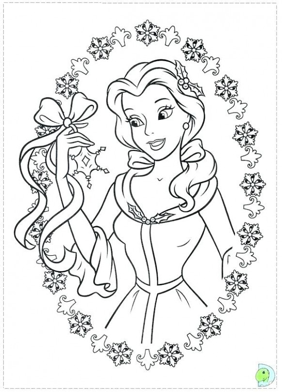 christmas princess coloring pages – danquahinstitute