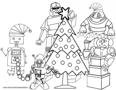 Christmas Robot Coloring Pages Swifte Us – Weareeachother Coloring – Christmas Robot Coloring Pages